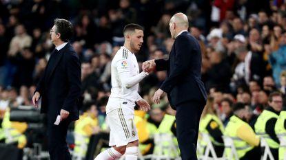 """Zidane staat voor helse week met Real, maar """"Hazard is klaar en wil absoluut spelen"""""""