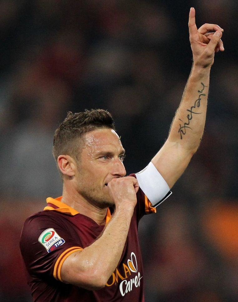 Francesco Totti Beeld getty