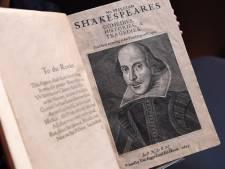 Verzamelde werken Shakespeare brengen miljoenen op