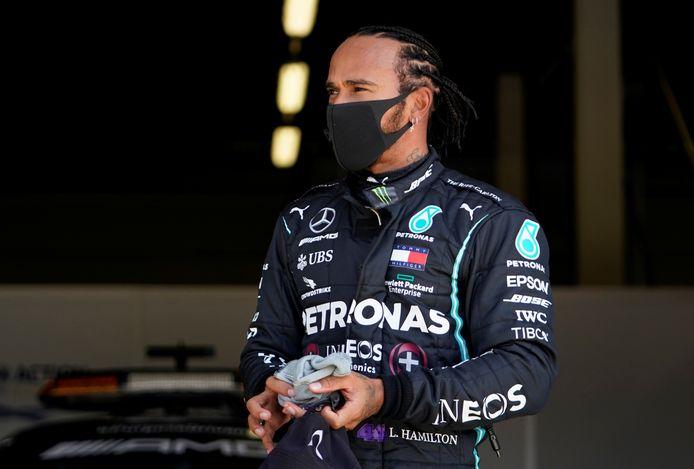 Lewis Hamilton was net als teamgenoot Valtteri Bottos van een andere orde.
