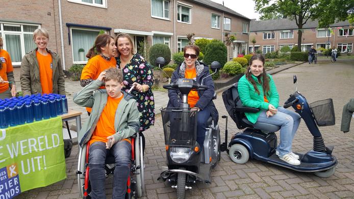 Ruud Marcelissen laat zich sponsoren voor de halve marathon die hij zondag 19 mei in Leiden aflegt. De opbrengst is voor onderzoek naar de spierziekte die zijn gezin heeft getroffen.