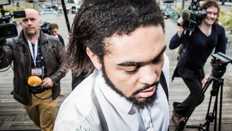 Ex-syriëstrijder Jeroen Bontinck op het Sharia4Belgium-proces