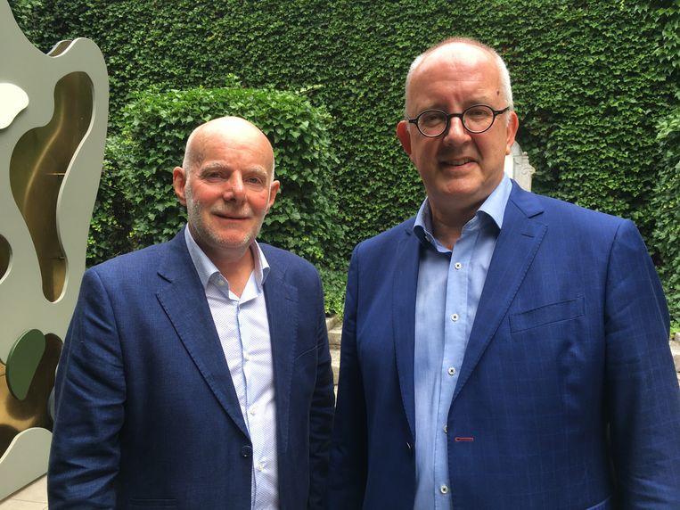 Ben Geysen en Bart Vandesompele organiseren het echte festival International Filmfestival Antwerp (Iffa)