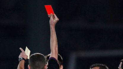 Bizarre rode kaart voor Salihovic