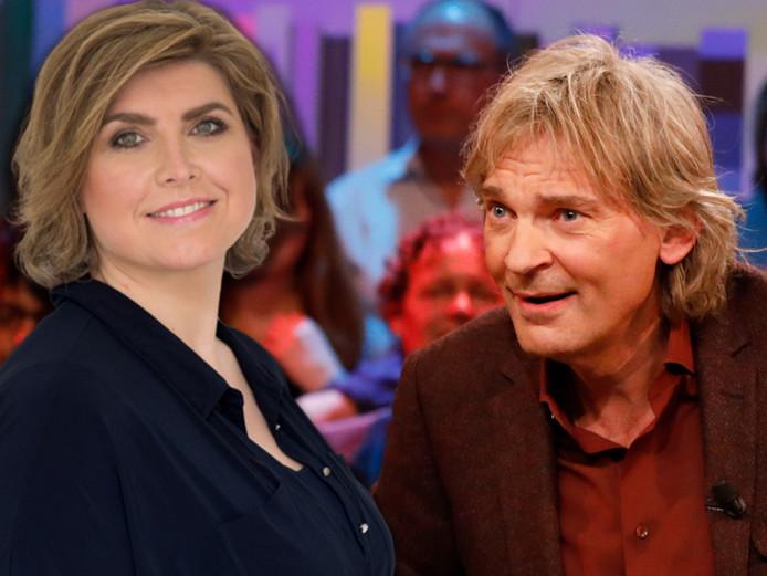Angela de Jong en Matthijs van Nieuwkerk.