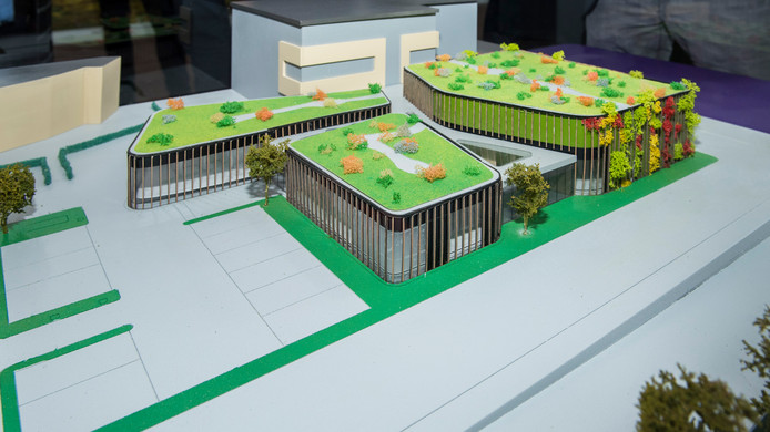 Zo komt het bestralingscentrum in Apeldoorn er uit te zien.