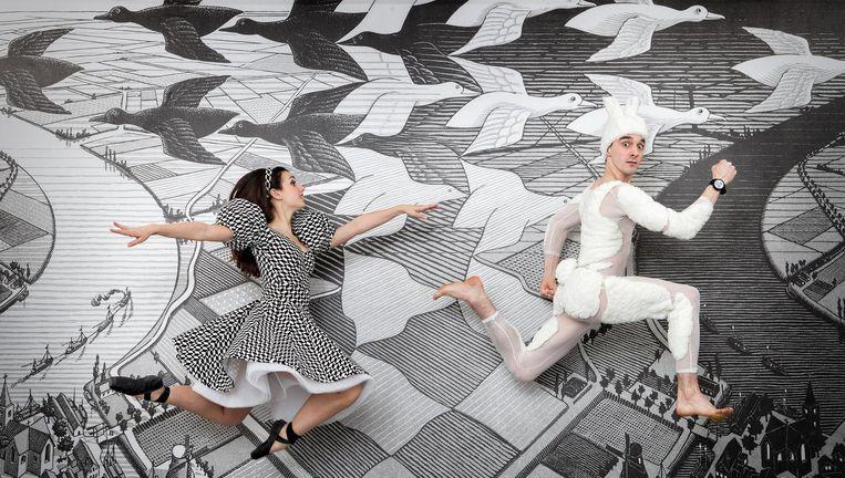 Alice in Winterwonderland Beeld Studio Oostrum/Escher Company