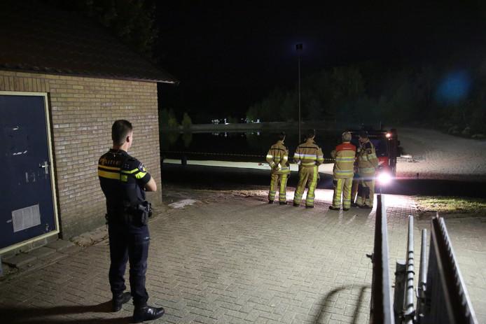 De brandweer en de politie kwamen donderdagavond ter plaatste in Sibculo.