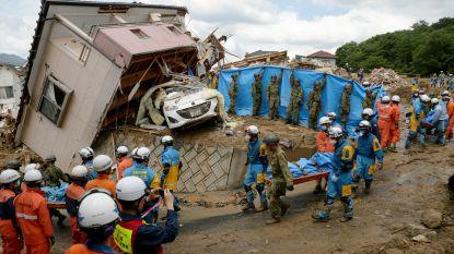 Al meer dan 122 doden door hevige regenbuien en overstromingen in Japan