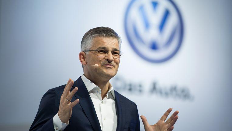 Michael Horn, CEO van de Amerikaanse Volkswagen Group