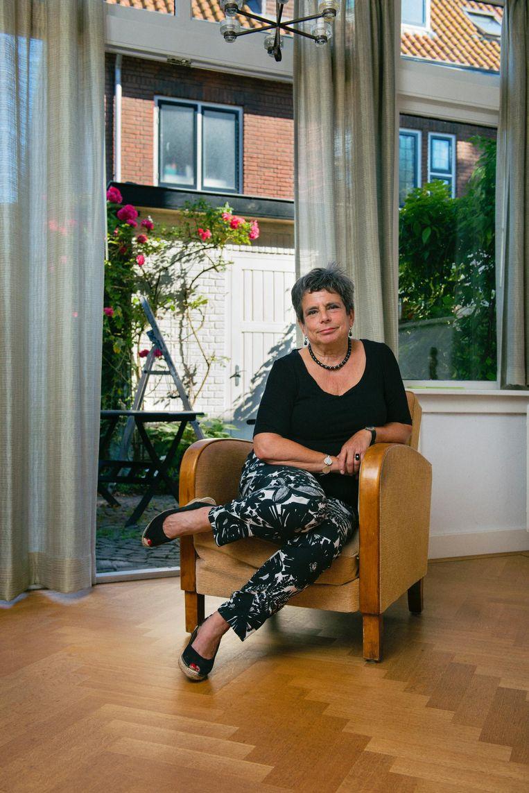 Jenny Goldschmidt: 'Mijn doofheid heeft me eigenlijk veel opgeleverd.' Beeld Lukas Göbel