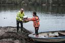 Gisteren werden door Econsultancy watermonsters genomen van het water in de kleiput.