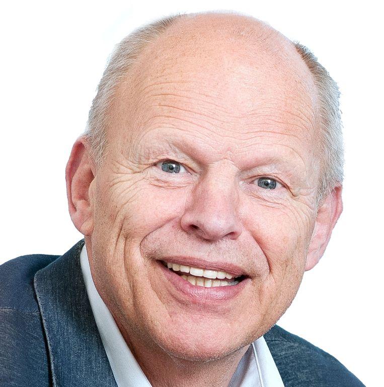 Willem Vermeend, een van de schrijvers van het boek Slim en Groen. Beeld TR BEELD