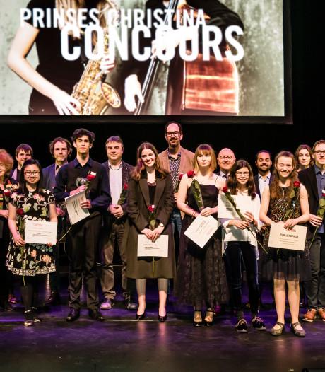Jessica Lukken uit Oisterwijk winnares Prinses Christina Concours in Veghel