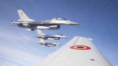Wat doen die F16's al enkele dagen boven Landen?