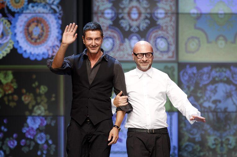 Stefano Gabbana en Domenico Dolce gingen in 2005 uit elkaar, maar hun modelijn bleef wel bestaan.