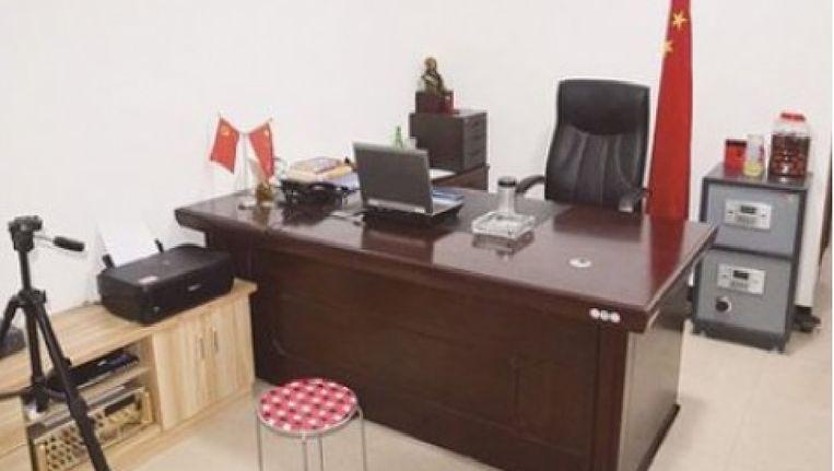 Het 'politiebureau' van Lei