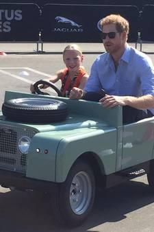 Nederlandse Daimy (5) chauffeur van Prins Harry