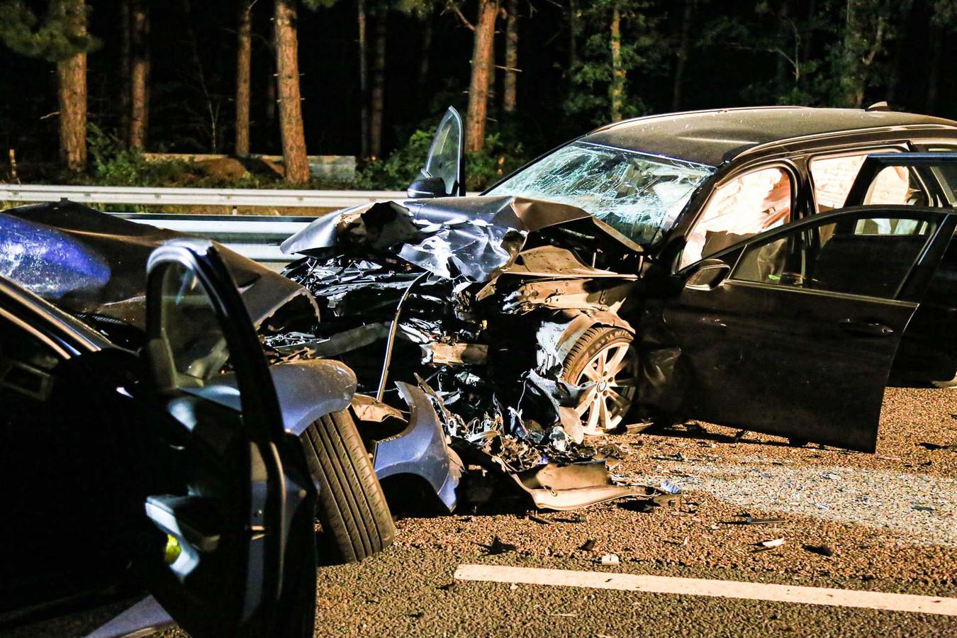Spookrijder veroorzaakt ernstig ongeluk op de A67.