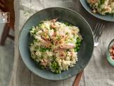 Recept van de dag: risotto met Hollandse garnalen en forel