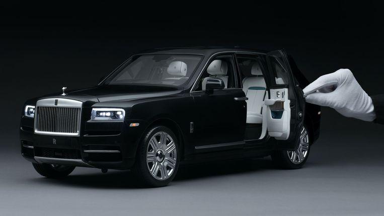 Rolls-Royce brengt een miniatuur van de Cullinan.