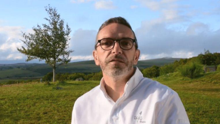 Sébastien Bras wil van zijn drie Michelinsterren af Beeld Facebook/Still uit video/Sébastien Bras