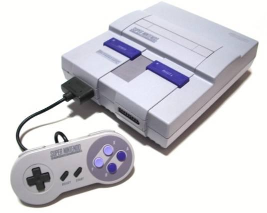 De Super Nintendo zoals hij er in Amerika uitzag