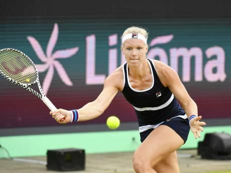 Deceptie voor Bertens in Rosmalen: finale verloren ondanks vijf matchpoints