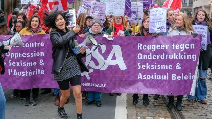 3000 betogers op straat tegen geweld tegen vrouwen