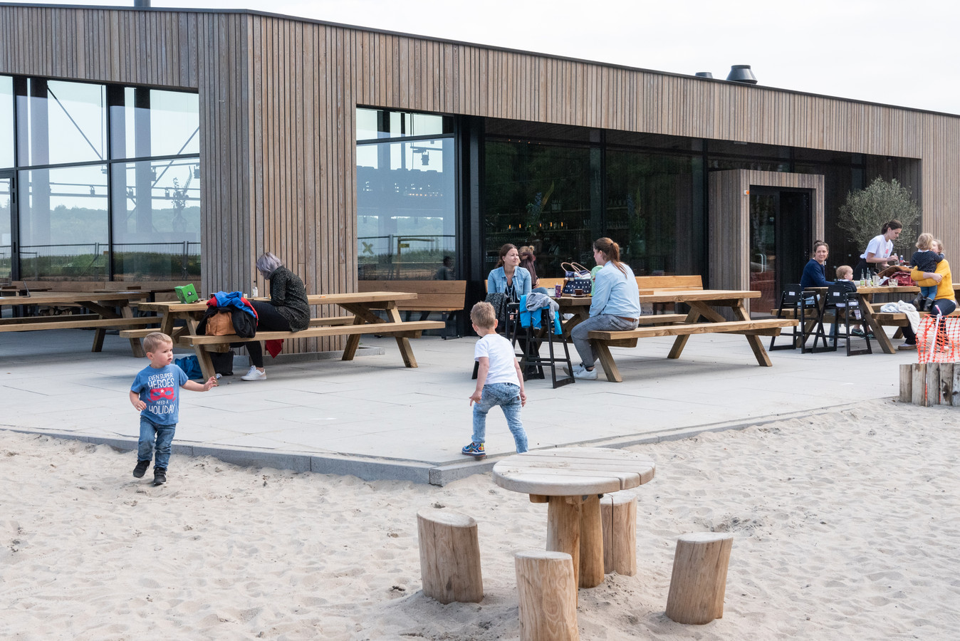Restaurant Soesterdal ging nog maar twee maanden geleden voor het eerst open.