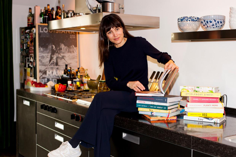 Daphne Bunskoek:  'Het leven is te kort om rotzooi te eten.' Beeld Renate Beense