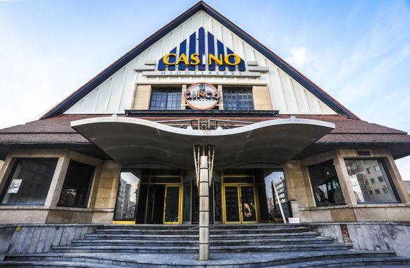Het casino in Middelkerke zoals het er even geleden uitzag.