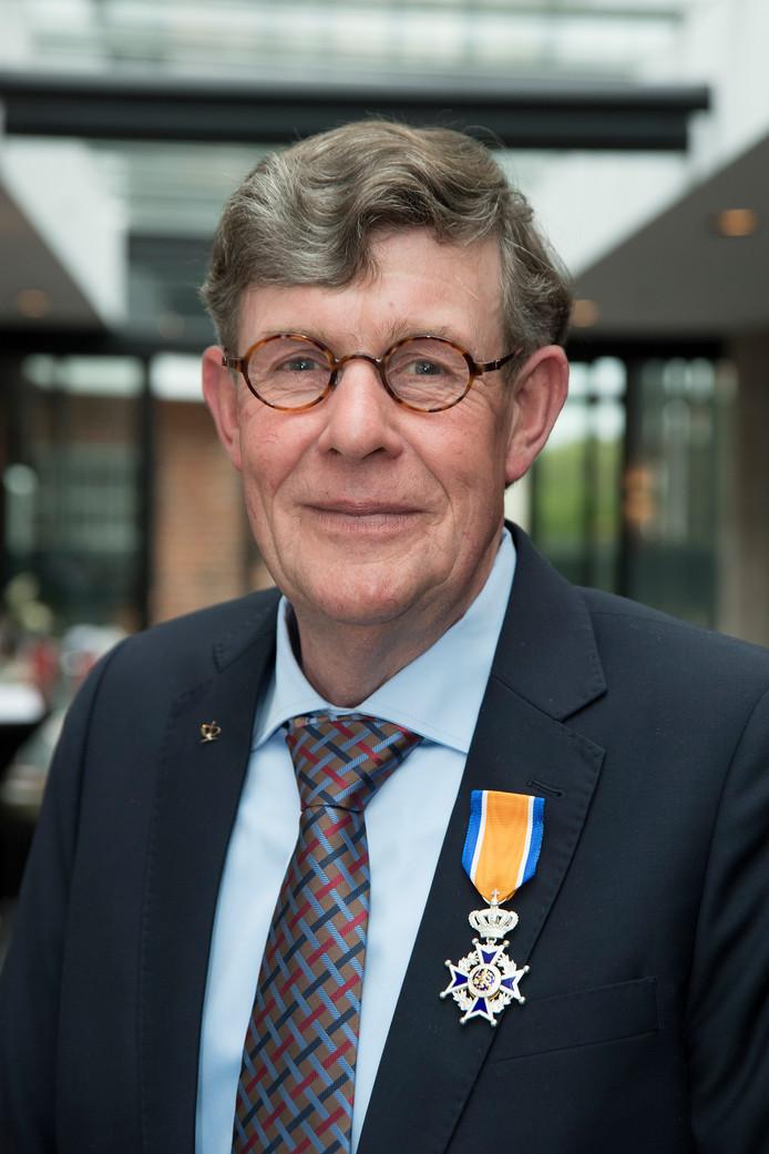 Rien van Doorn uit Waardenburg is Ridder in de Orde van Oranje Nassau.