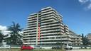 De beroemde en beruchte 'Vele' flatgebouwen, decor van de televisieserie Gomorra.