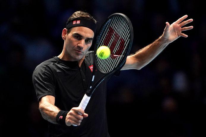 """Roger Federer l'homme """"qui réussit plus de volées que n'importe qui d'autre""""."""