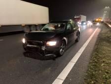 Pakjesfile in Oost-Nederland: vertraging door ongelukken op A1 en A28