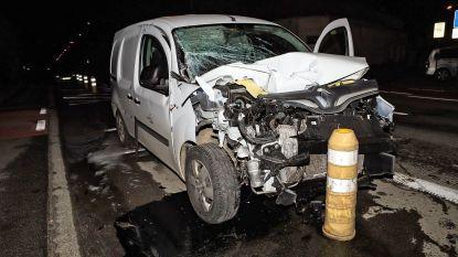 Lichtgewonde en veel blikschade bij ongeval op Gentsesteenweg
