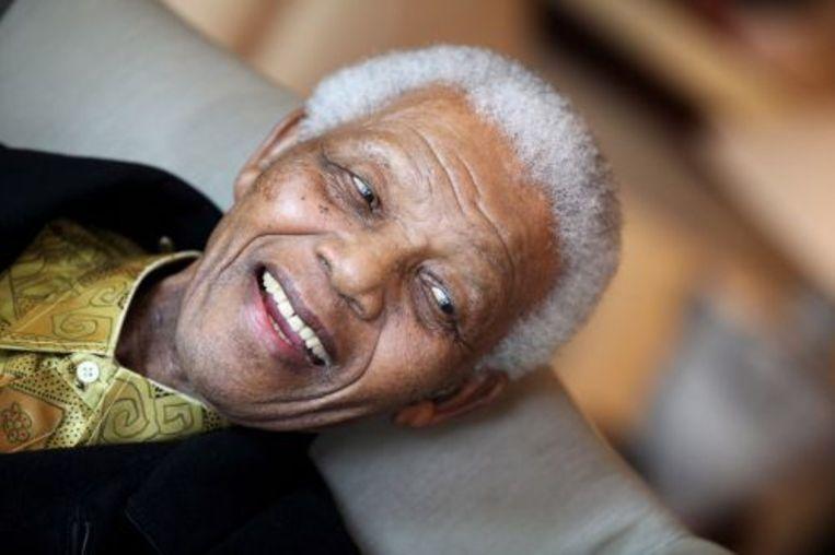 Nelson Mandela. EPA Beeld