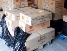 Illegaal vuurwerk gevonden op 400 adressen in Oost-Nederland