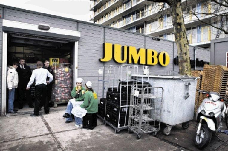 Een Jumbo in Odijk, provincie Utrecht. Jumbo heeft 124 winkels. (FOTO MAARTEN HARTMAN) Beeld Roger Dohmen