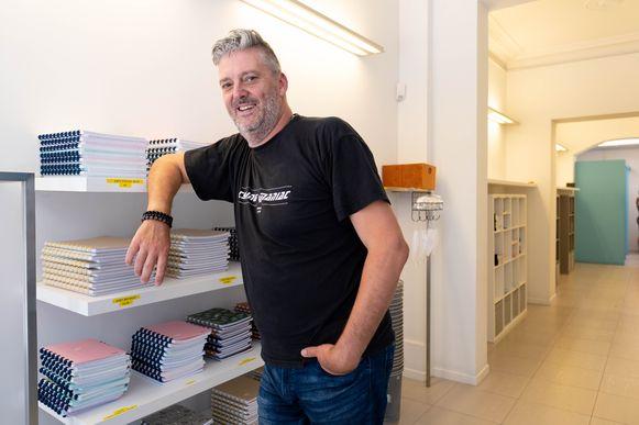 Johan Van der Taelen opent 't Kofschip 2.0 op de IJzerenleen in Mechelen