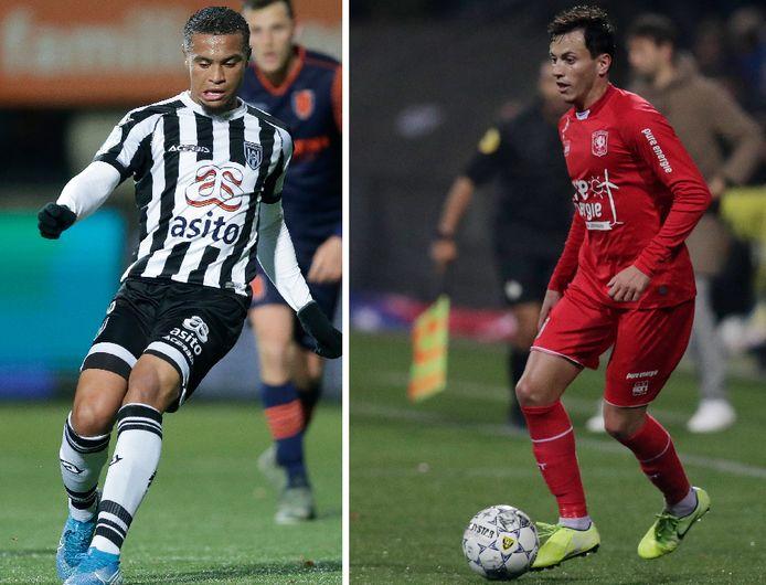 Dos Santos (links) en Espinosa
