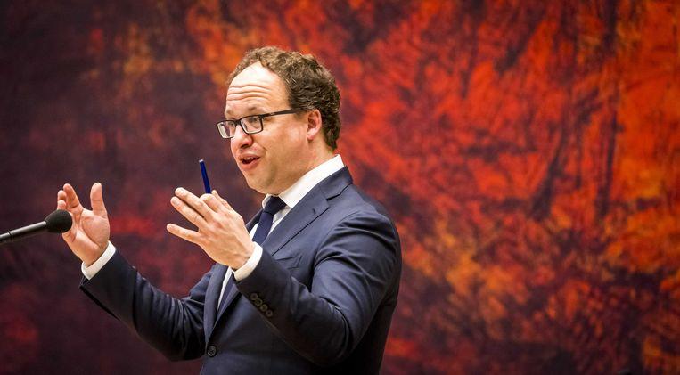 Minister Wouter Koolmees van sociale zaken kan weinig doen tegen het besluit van de Europese Unie. Beeld ANP