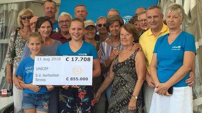 Uniceftornooi levert 17.000 euro op