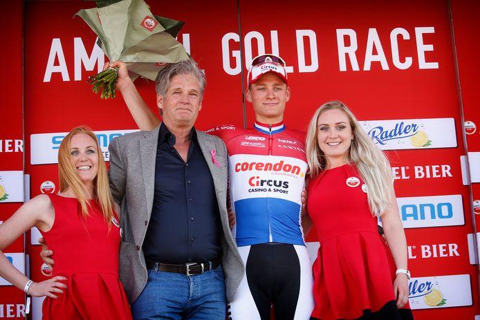 Mathieu Van Der Poel won vorig jaar op indrukwekkende wijze de Amstel Gold Race.