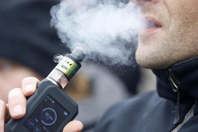 E-sigaretten mogen niet meer geadverteerd worden.