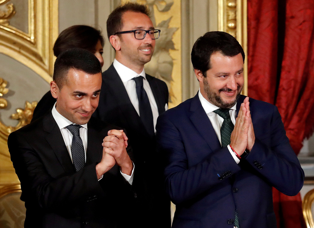 Luigi Di Maio et Matteo Salvini