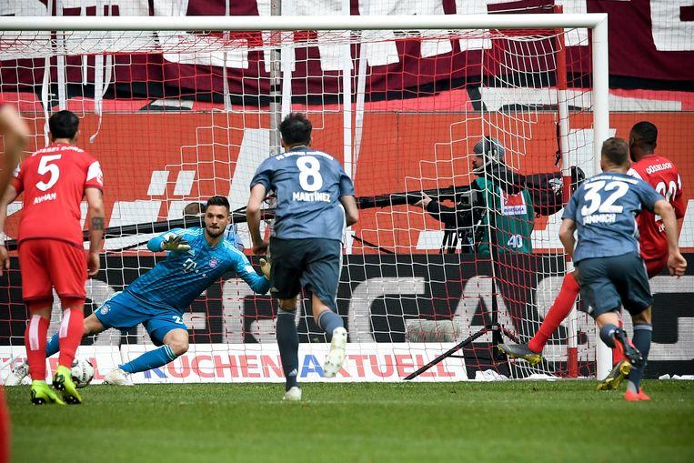 Lukebakio trof raak vanop de penaltystip.