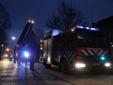 Schoorsteenbrand in Eibergen trekt veel bekijks