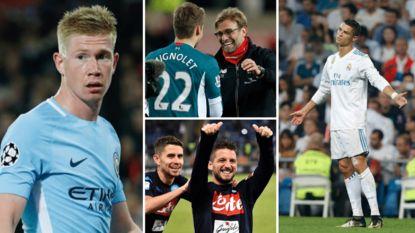 Weergaloze De Bruyne, spelers van Liverpool die niet achterlijk zijn en het kanon van 'CR7' dat blijft zwijgen: De Mos blikt vooruit naar CL